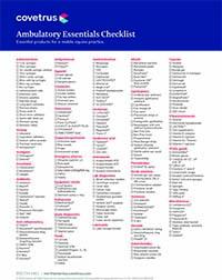 Ambulatory Essentials Checklist for Equine Veterinarians