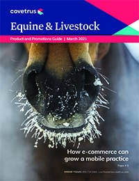 Equine and Large Animal March Product Guide