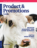 August 2021 Equine Livestock Product Guide Cover