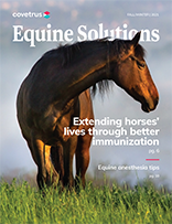 Fall Winter 2021 Equine Solutions Cover